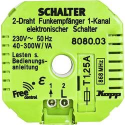 Přijímač Kopp Free Control 808003328, 1kanálový