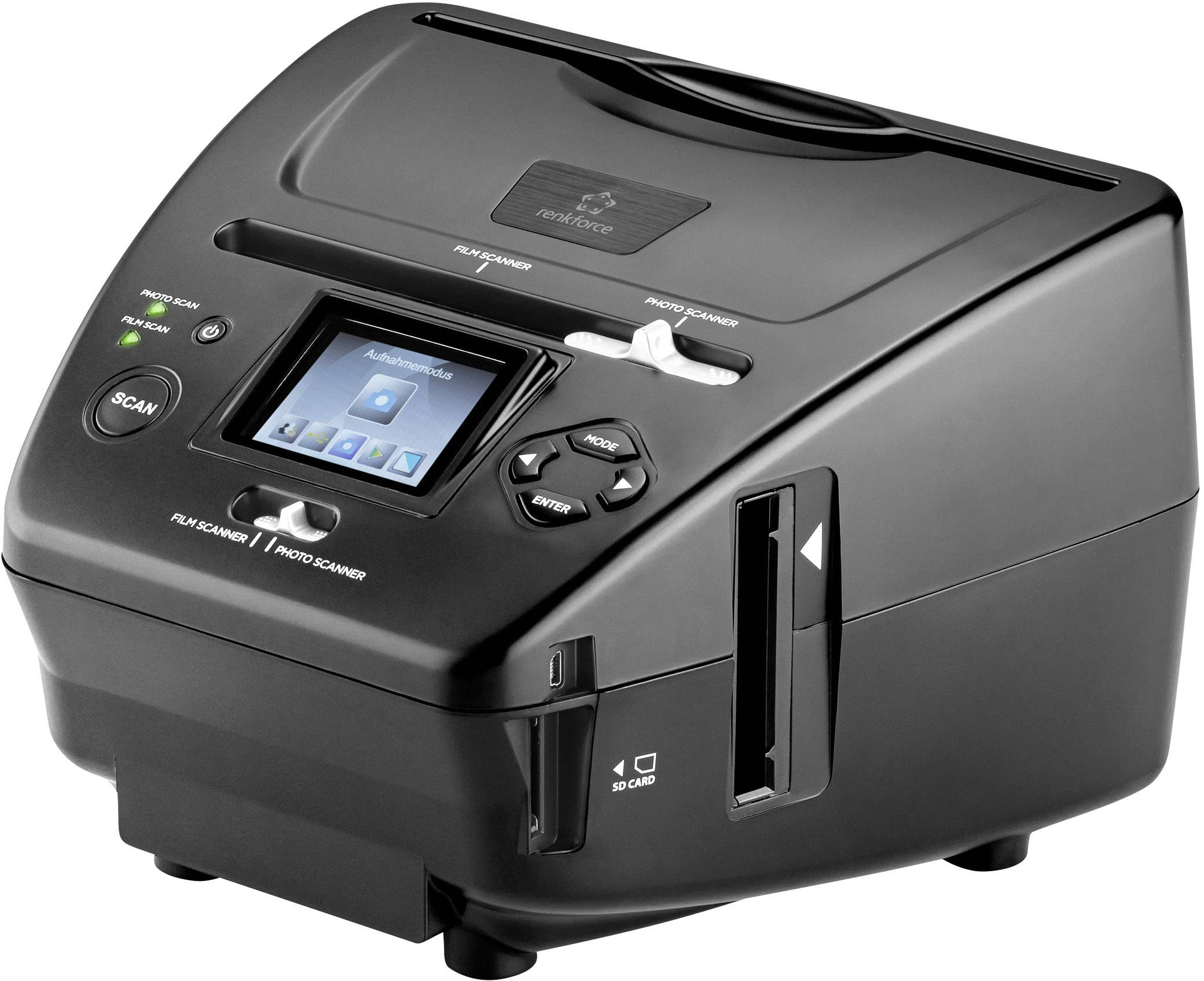 Multifunkčný skener diapozitívov, negatívov a fotografií Renkforce DS200-5M, N/A