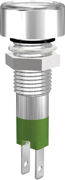 IndikačnéLED Signal Construct SMLD 08212, SMLD 08212, 20 mA, 12 V/DC, zelená