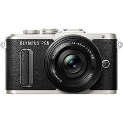 Systémový fotoaparát Olympus PEN E-PL8, 17.2 Megapixel, černá