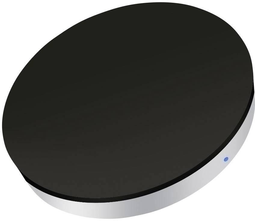 Bezdrátová indukční nabíječka ZENS ZESC05B00, Qi standard, černá/stříbrná