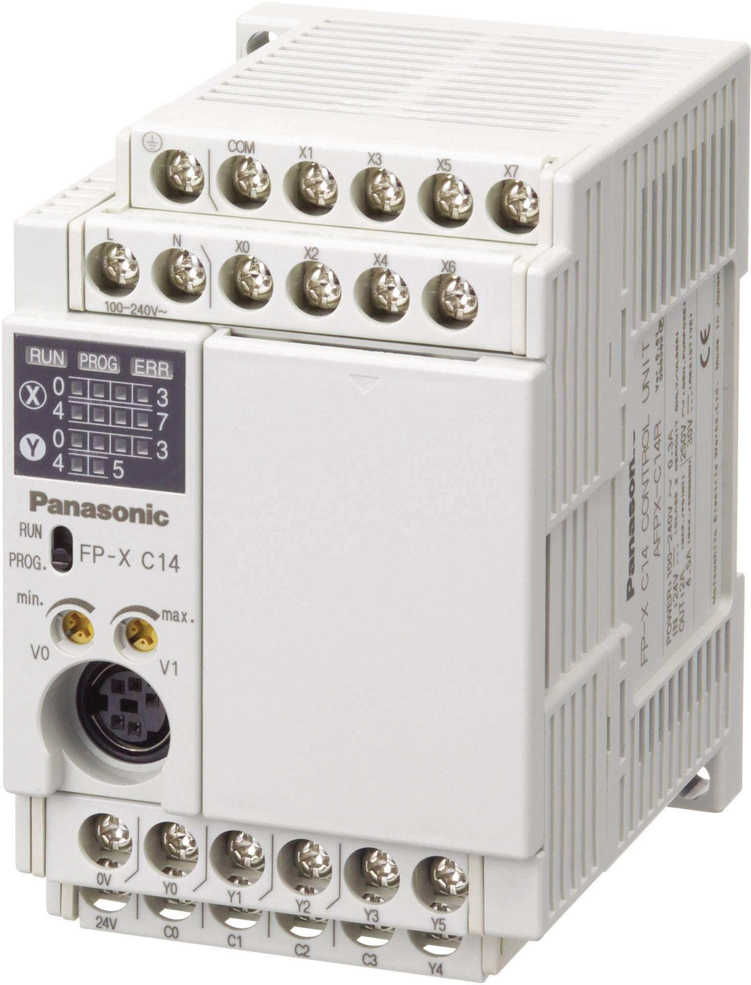 Rozšiřující modul pro PLC Panasonic AFPXC14RDJ 24 V/DC