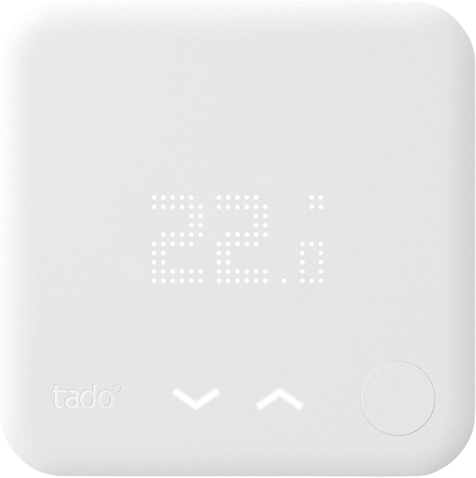 Bezdrátový pokojový termostat tado° s dotykovým ovládacím panelem
