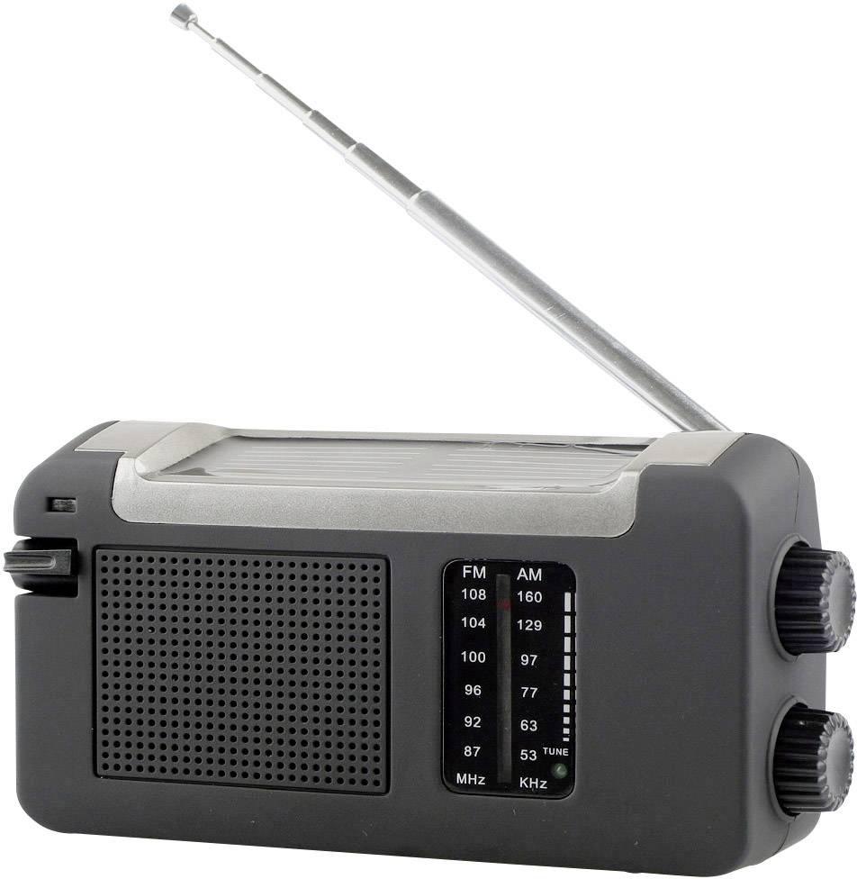 FM kapesní rádio Reflexion TRA505DS, SV, FM, černá