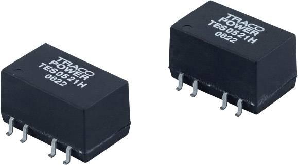 DC/DC měnič napětí, SMD TracoPower TES 2-2423H, 24 V/DC, 15 V/DC, -15 V/DC, 66 mA, 2 W, Počet výstupů 2 x