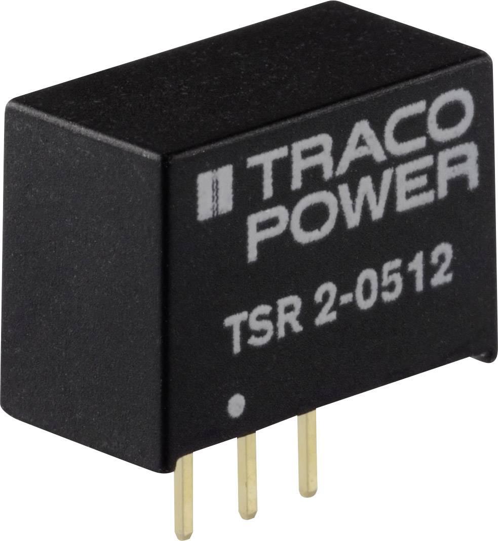 DC/DC měnič napětí do DPS TracoPower TSR 2-2450, 24 V/DC, 5 V/DC, 2000 mA, Počet výstupů 1 x