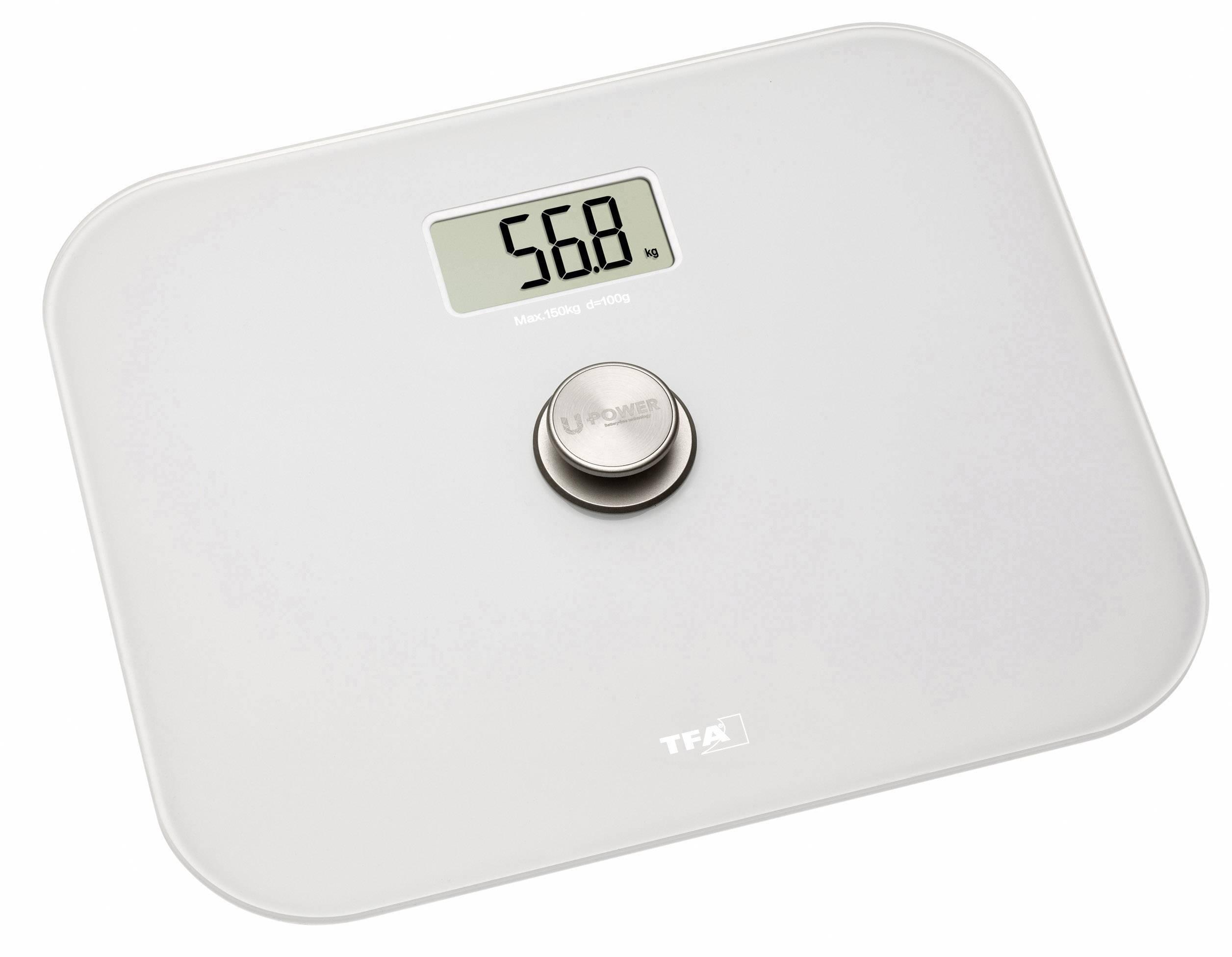 Digitální osobní váha TFA ECO STEP Personenwaage, bílá