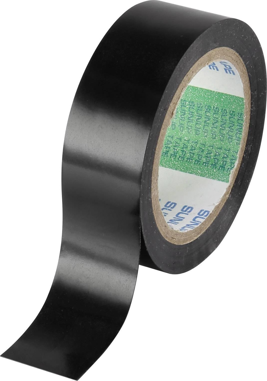 Izolační páska TRU COMPONENTS 93038C358, (d x š) 10 m x 19 mm, černá, 10 role