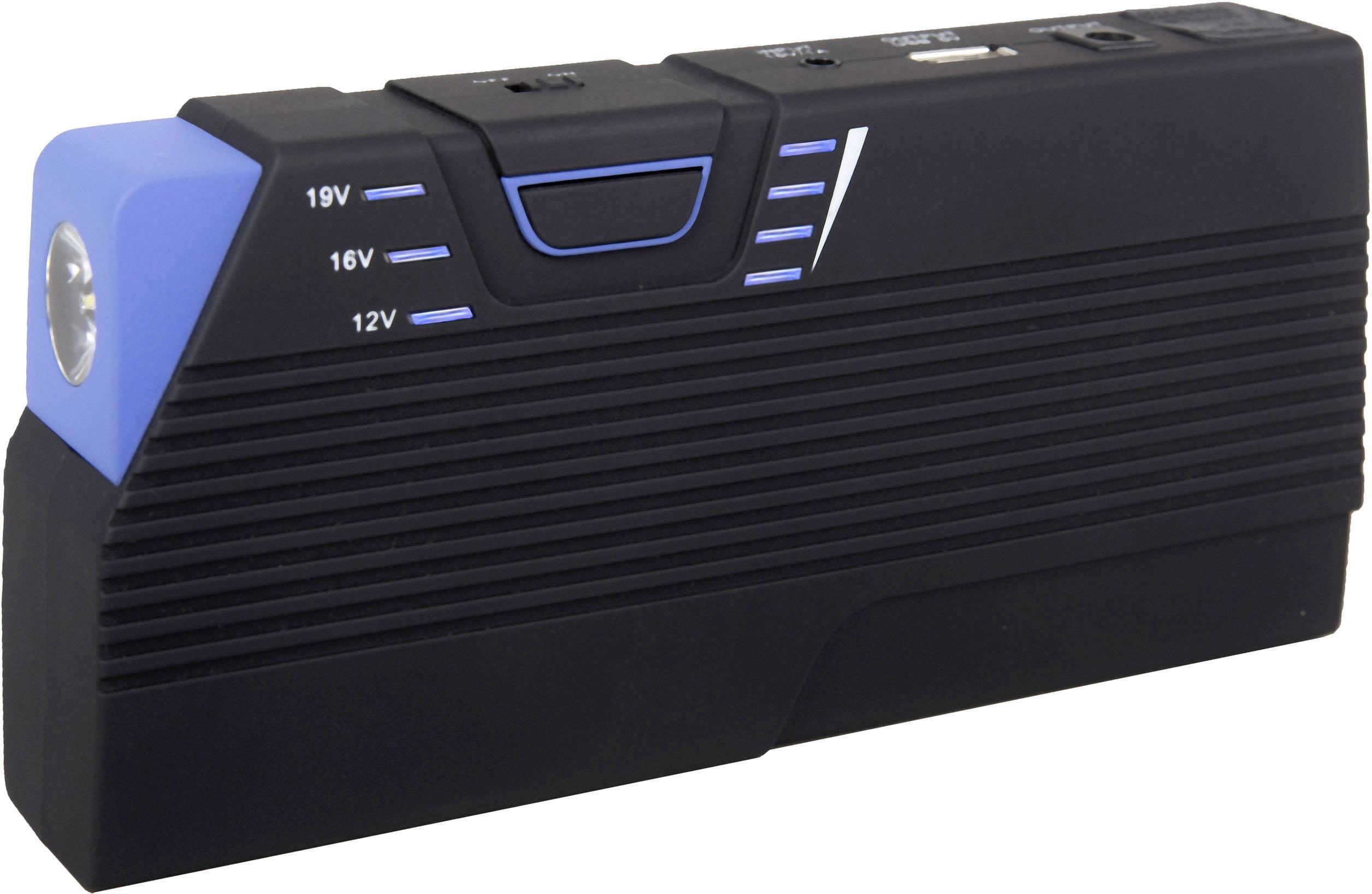 Systém na rýchle štartovanie auta HP Autozubehör Mini Powerpack 20894, s USB