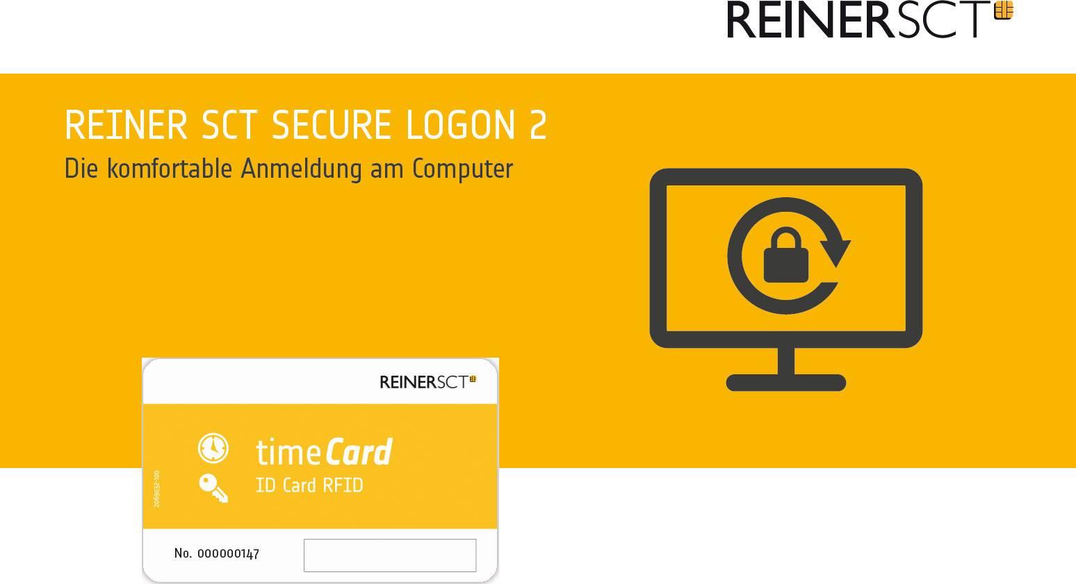 Prístupový systém do PC REINER SCT Secure Logon 2