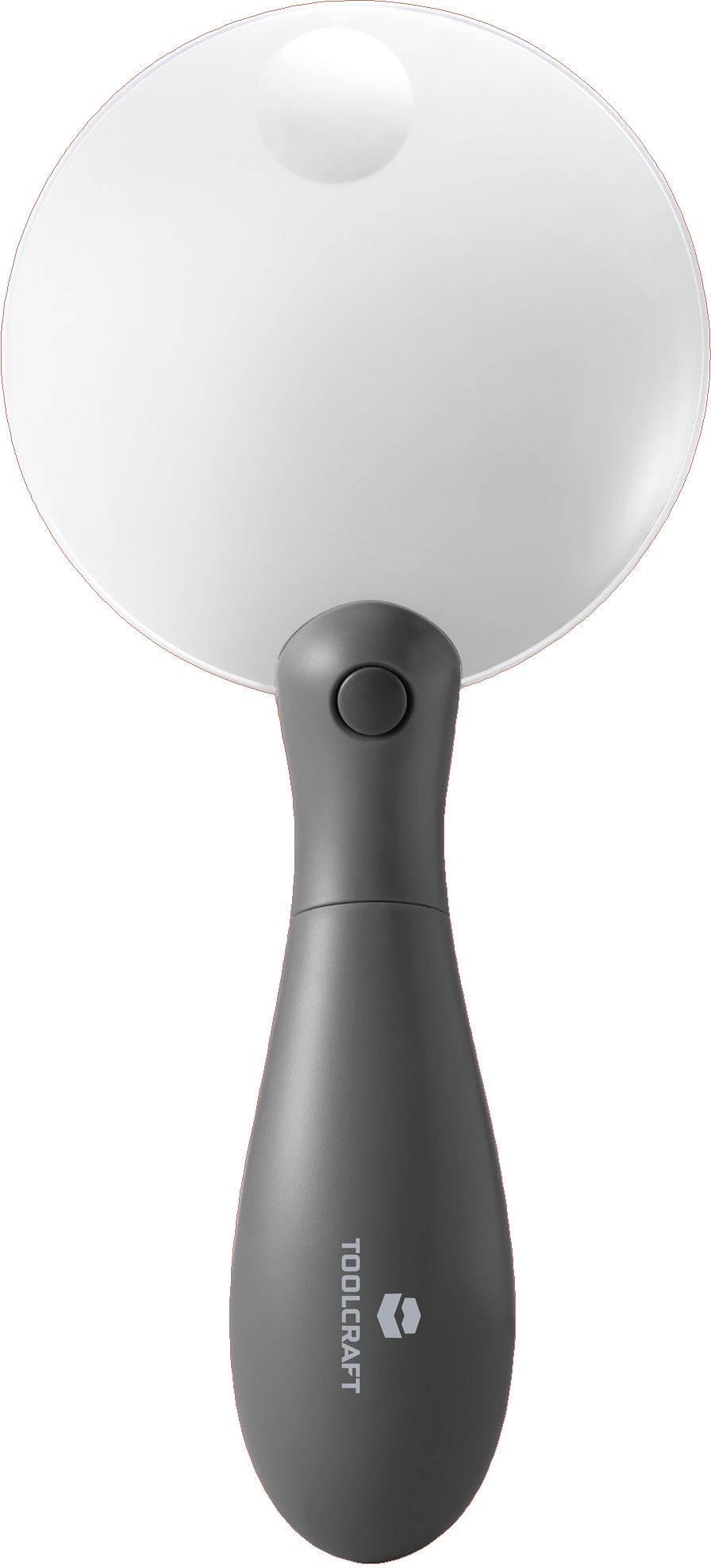 Ručná lupa s LED osvetlením TOOLCRAFT 1511640