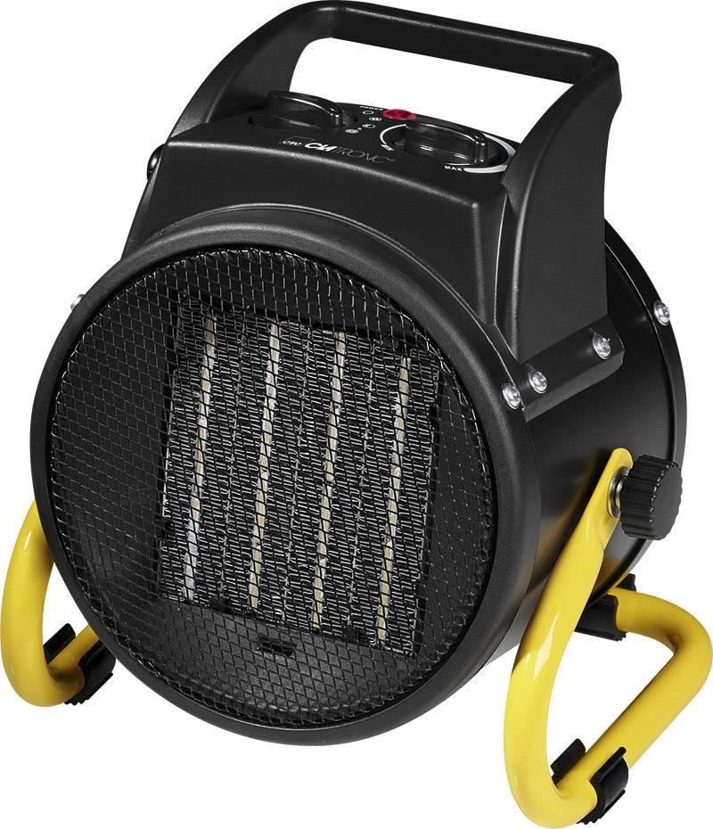 PTC keramický topný ventilátor Clatronic HL 3651 263775, 2000 W, černá