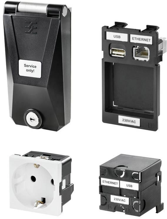 Sada FrontCom® průmyslový ethernet Stíněnou zásuvku IE-FC-SET-SPDEK001-KY-P Weidmüller Množství: 1 ks