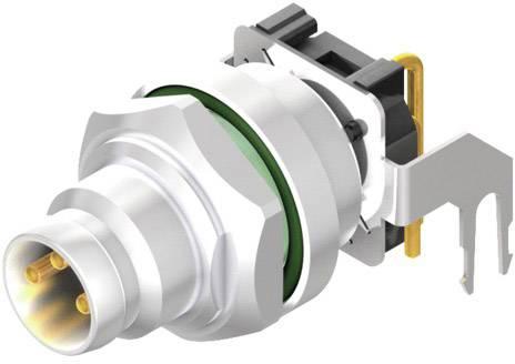 Vestavný zástrčkový konektor pro senzory - aktory Weidmüller SAIEW-M8S-3S-H12TL 2424330000, 10 ks