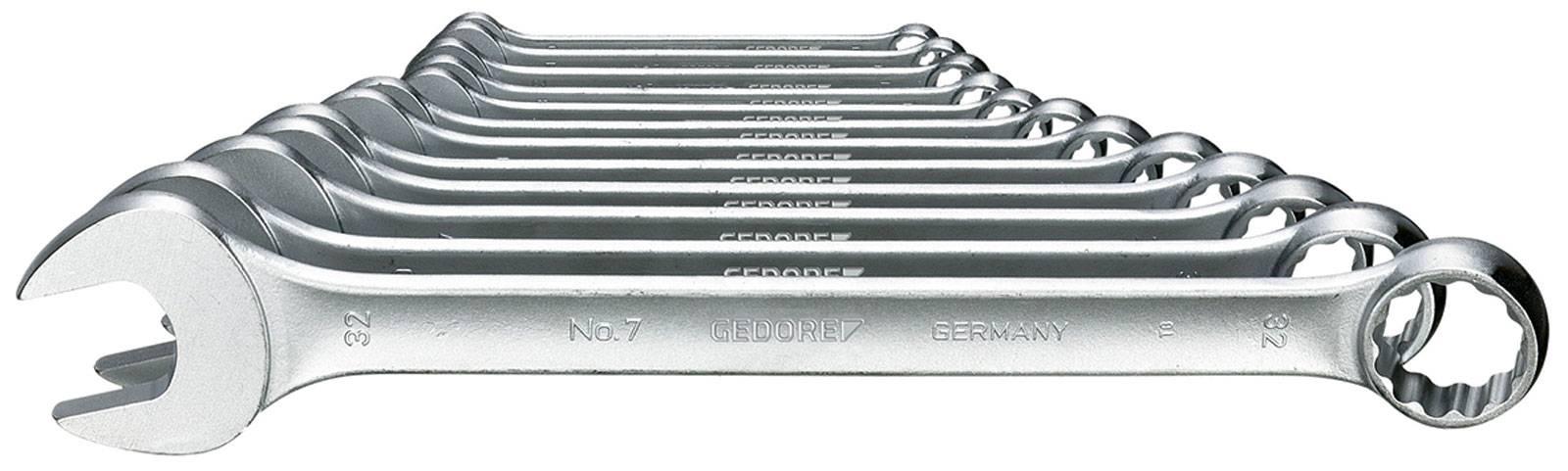 Sada očkoplochých klíčů Gedore 6093150, 10 - 32 mm, 12dílná