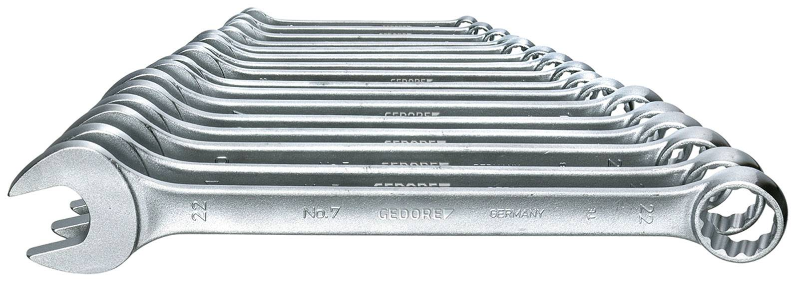 Sada očkoplochých kľúčov Gedore 6093580, 6 - 22 mm, 17-dielna