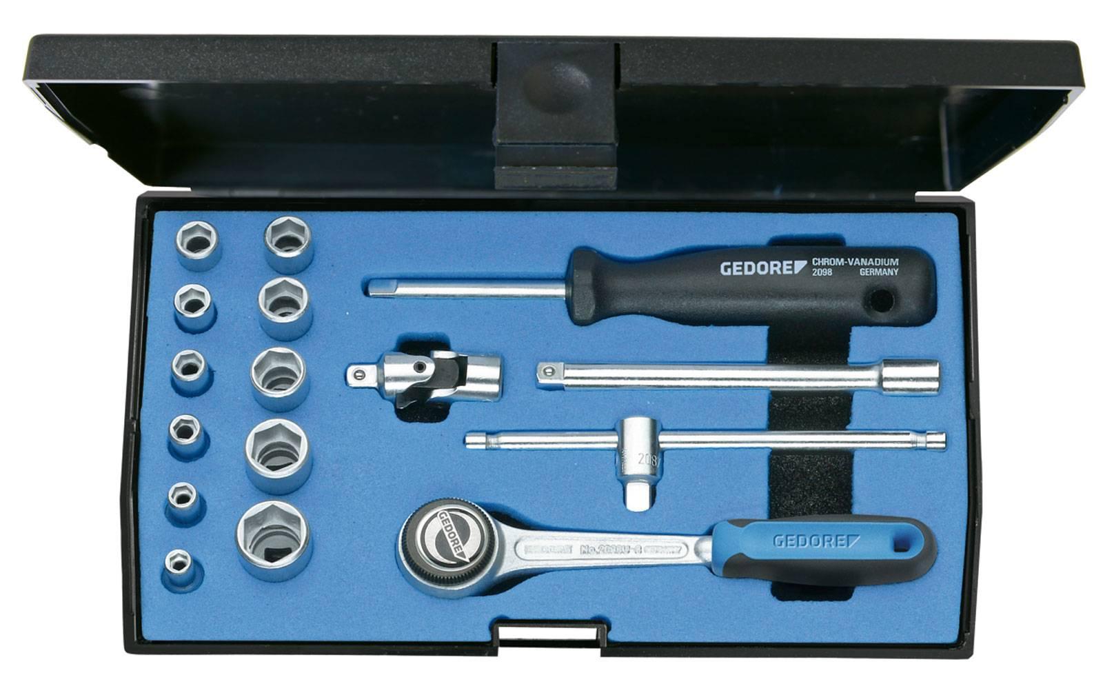 Súprava nástrčných kľúčov Gedore 6172290, 16-dielna