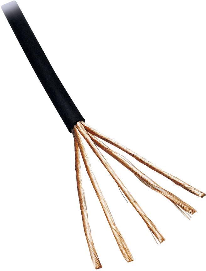 Audio kabel BKL Electronic 1509005/25, 2 x 0.22 mm², černá, 25 m
