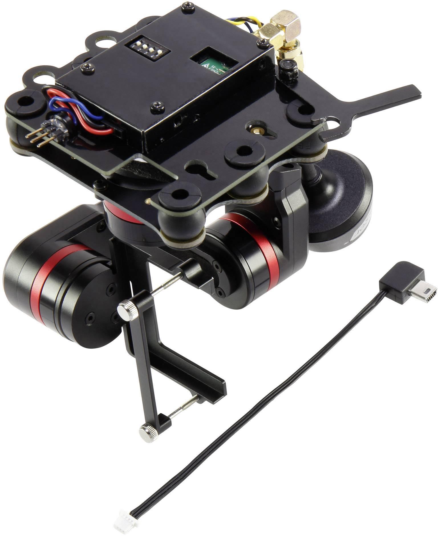 3-osý gimbal (kamerový držák) pro kamery dronu RC Logger X3 Mini 10010RC, vhodné pro RC Logger NovaX 350