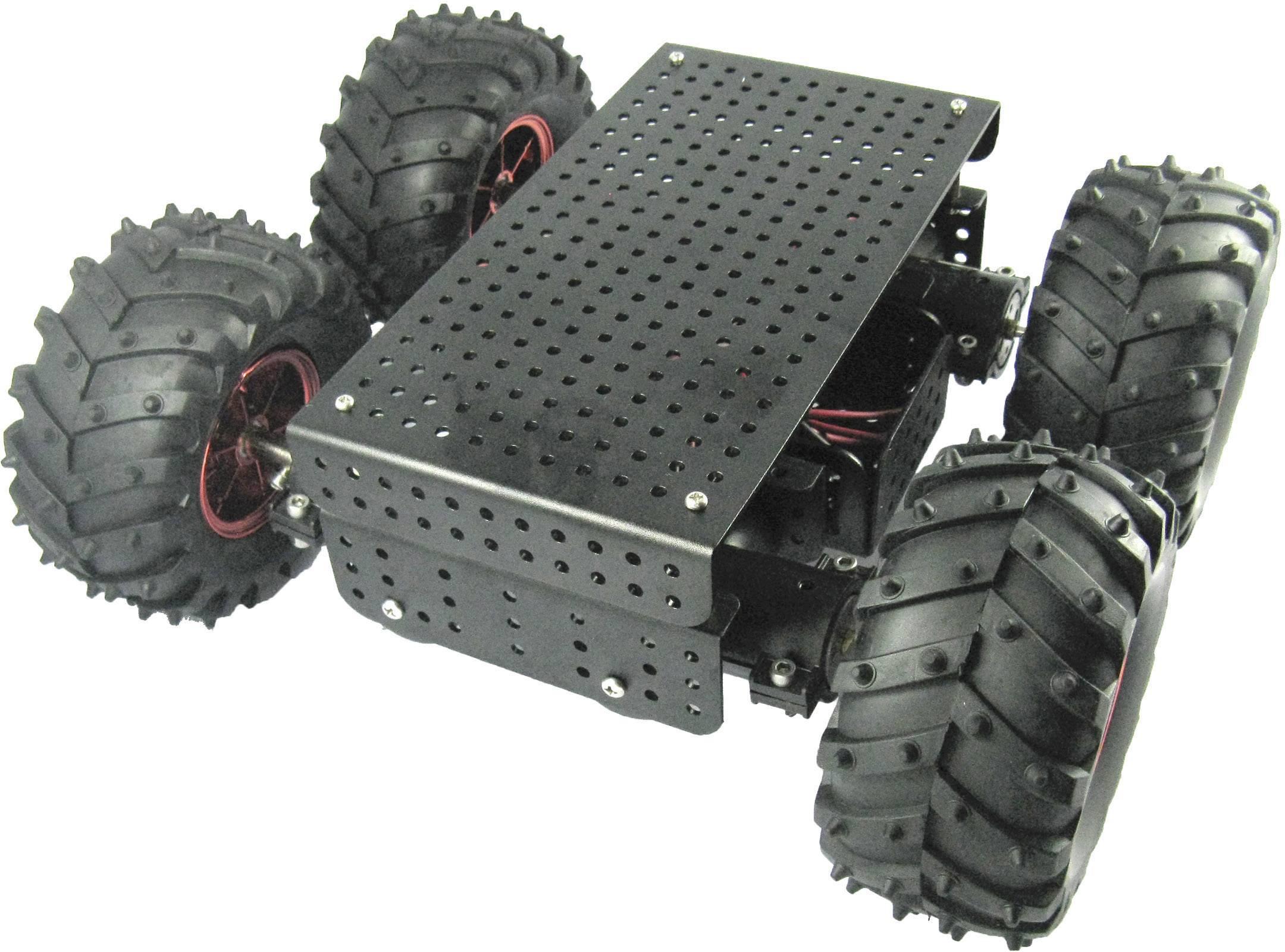 Robotické dvojkolesie Arexx Allrad Gelände Roboterplattform JSR-4WD