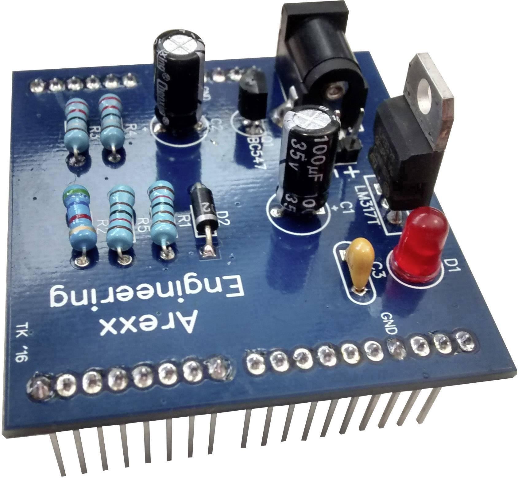 Rozšiřující modul Arexx k dobíjení baterií pro ovladač motorů MyRio