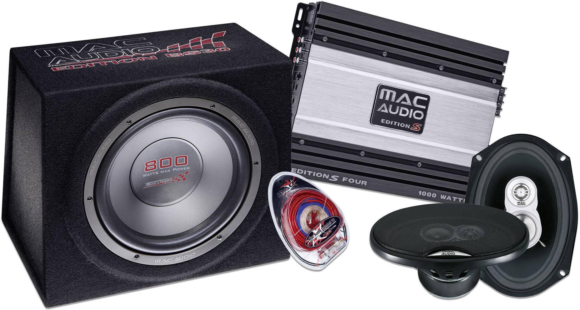 Hi-Fi sada do auta Mac Audio Edition Set 4693, 250 W