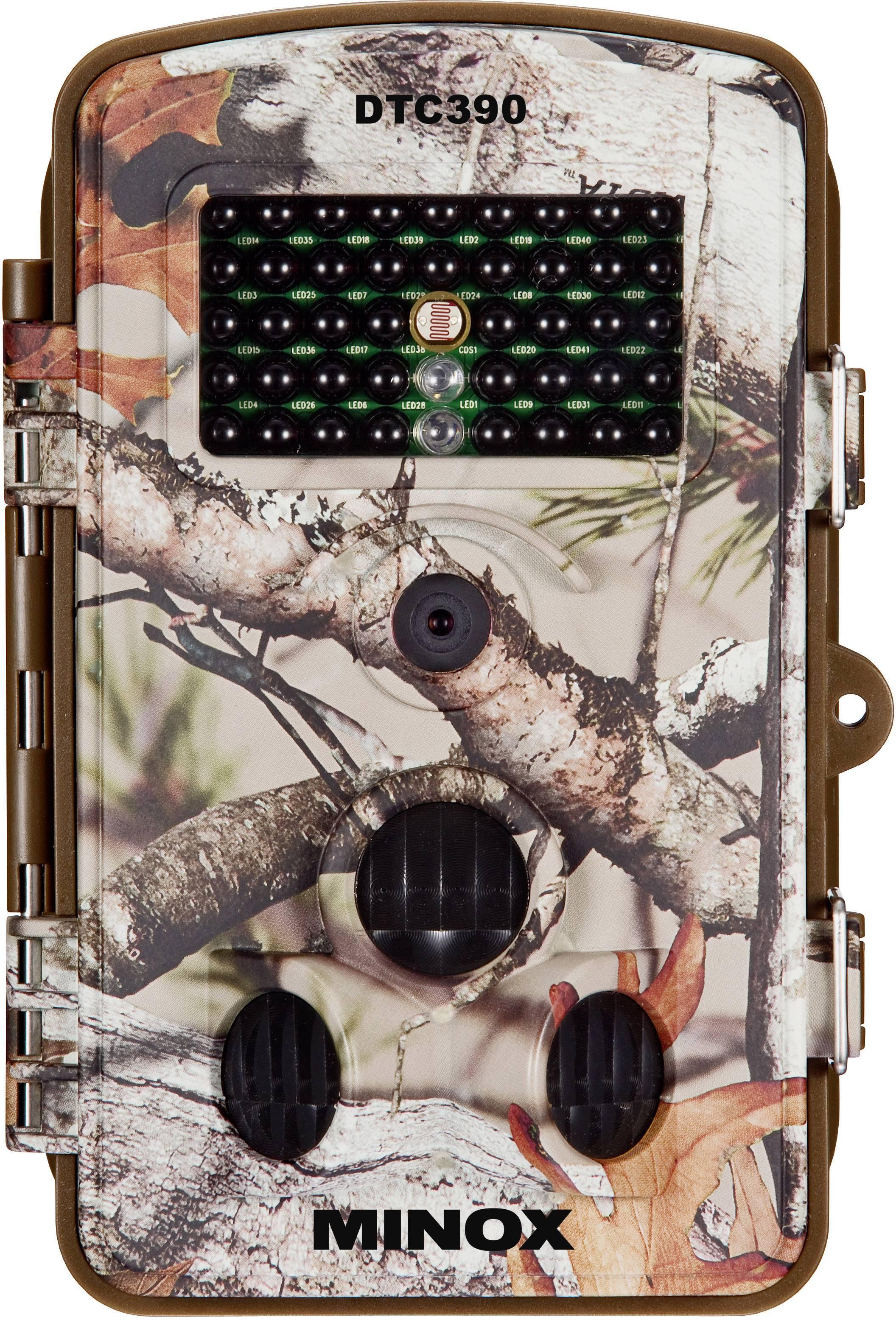 Fotopast Minox DTC 390, 5 MPix, černé LED diody, nahrávání zvuku, maskáčová