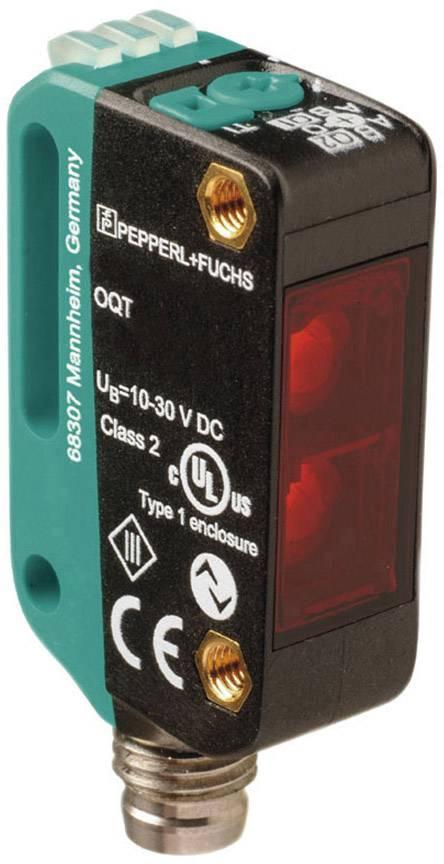 Reflexní světelný snímač Pepperl & Fuchs OQT150-R100-2EP-IO-V31