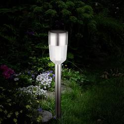 LED solární zahradní svítidlo Polarlite 0.5 W, IP44, nerezová ocel, sada 5 ks