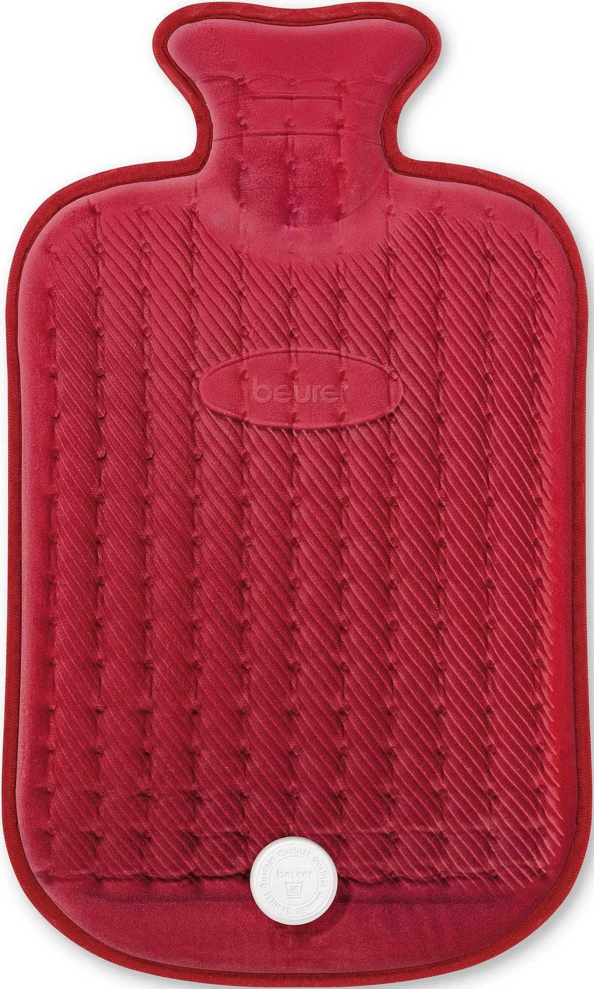 Elektrická hrejivá fľaša - termofor Beurer HK44, 100 W, 500 mm x 300 mm , červená