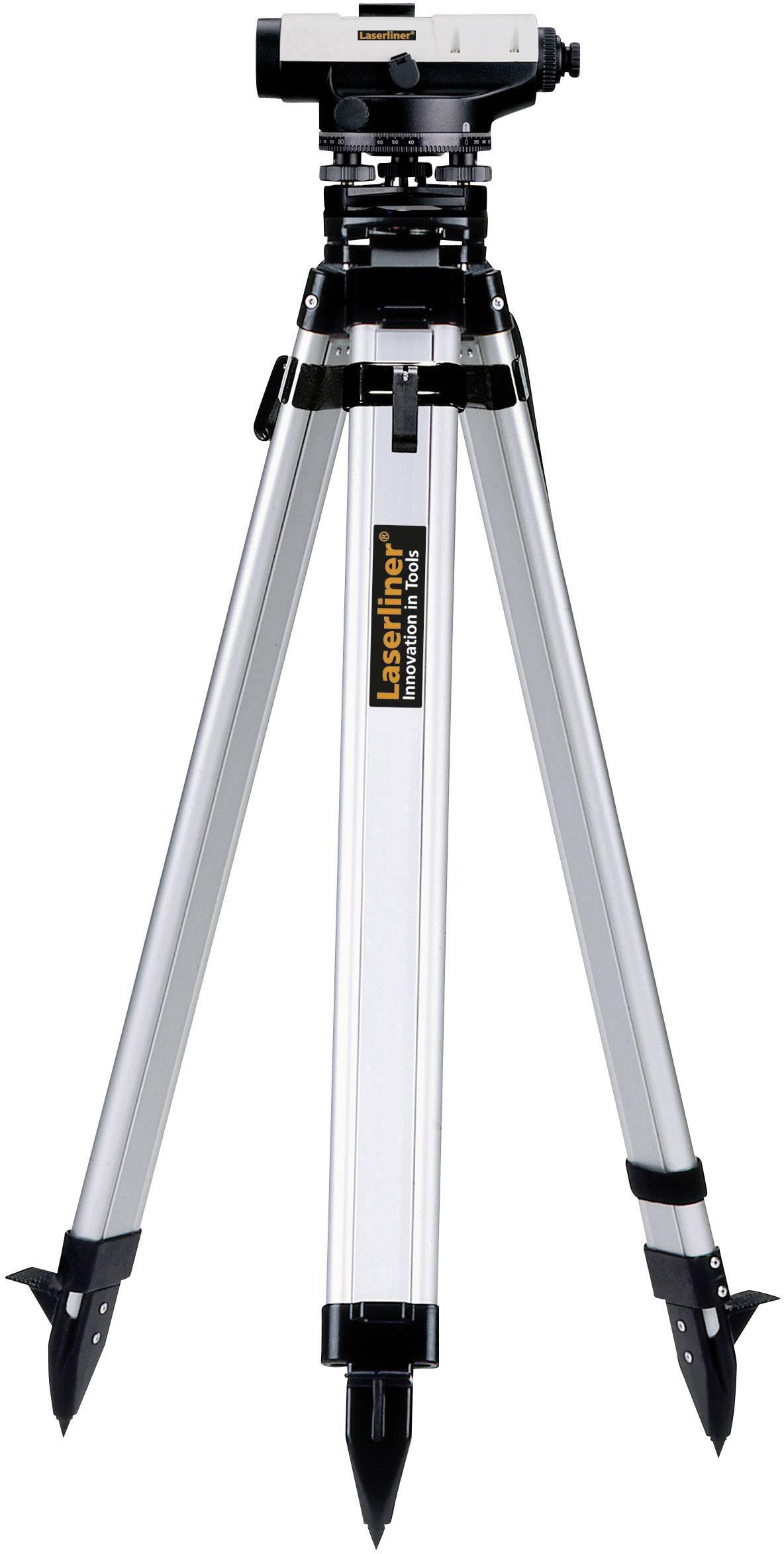 Optický nivelační přístroj vč. stativu, samonivelační Laserliner AL 22 Classic-Set, optické zvětšení 22 x, Kalibrováno dle: bez certifikátu