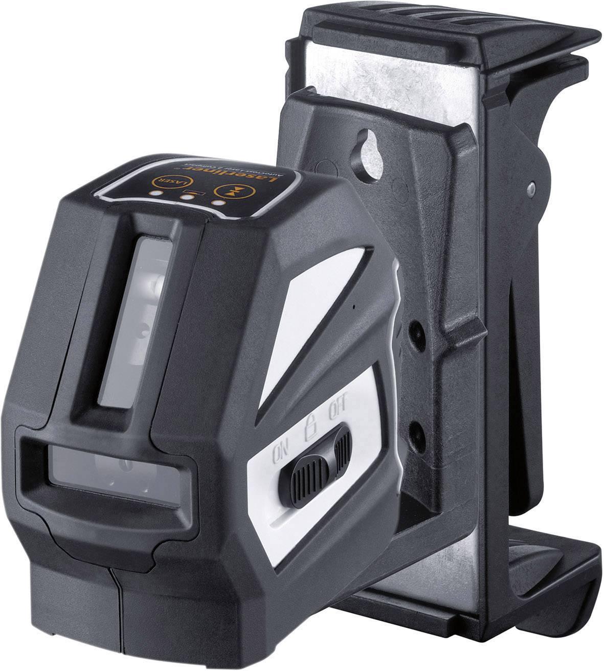 Samonivelační křížový laser Laserliner AutoCross-Laser 2 Plus, dosah (max.): 40 m, Kalibrováno dle: bez certifikátu