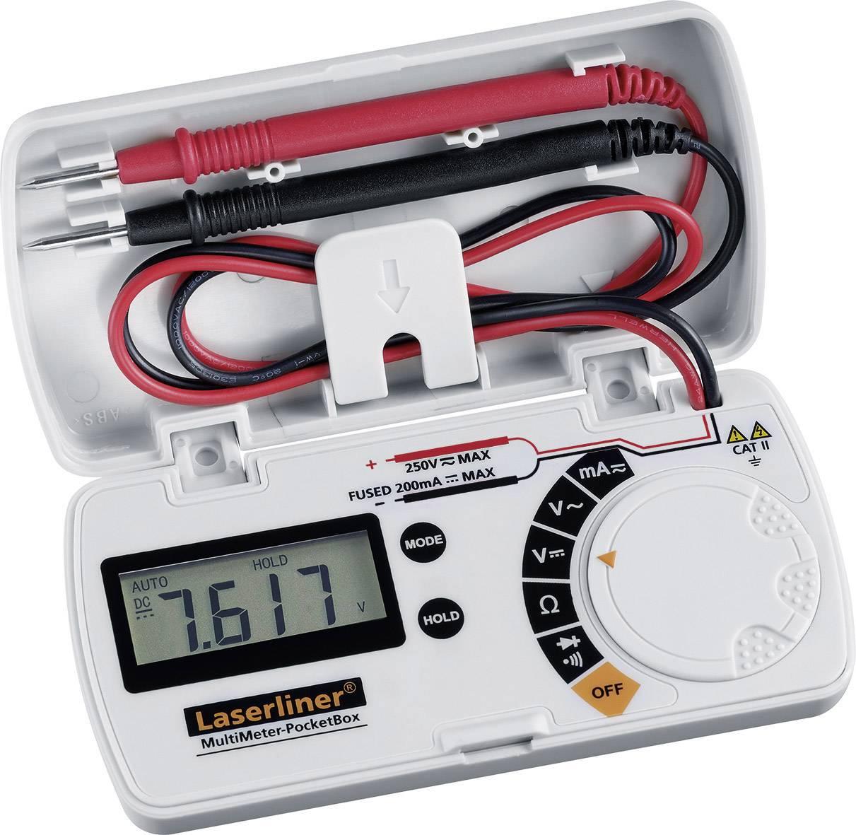Digitálne/y ručný multimeter Laserliner MultiMeter Pocket Box 083.028A