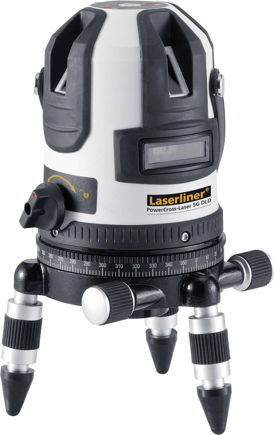 Krížový laser samonivelačná Laserliner PowerCross-Laser 5G, dosah (max.): 40 m