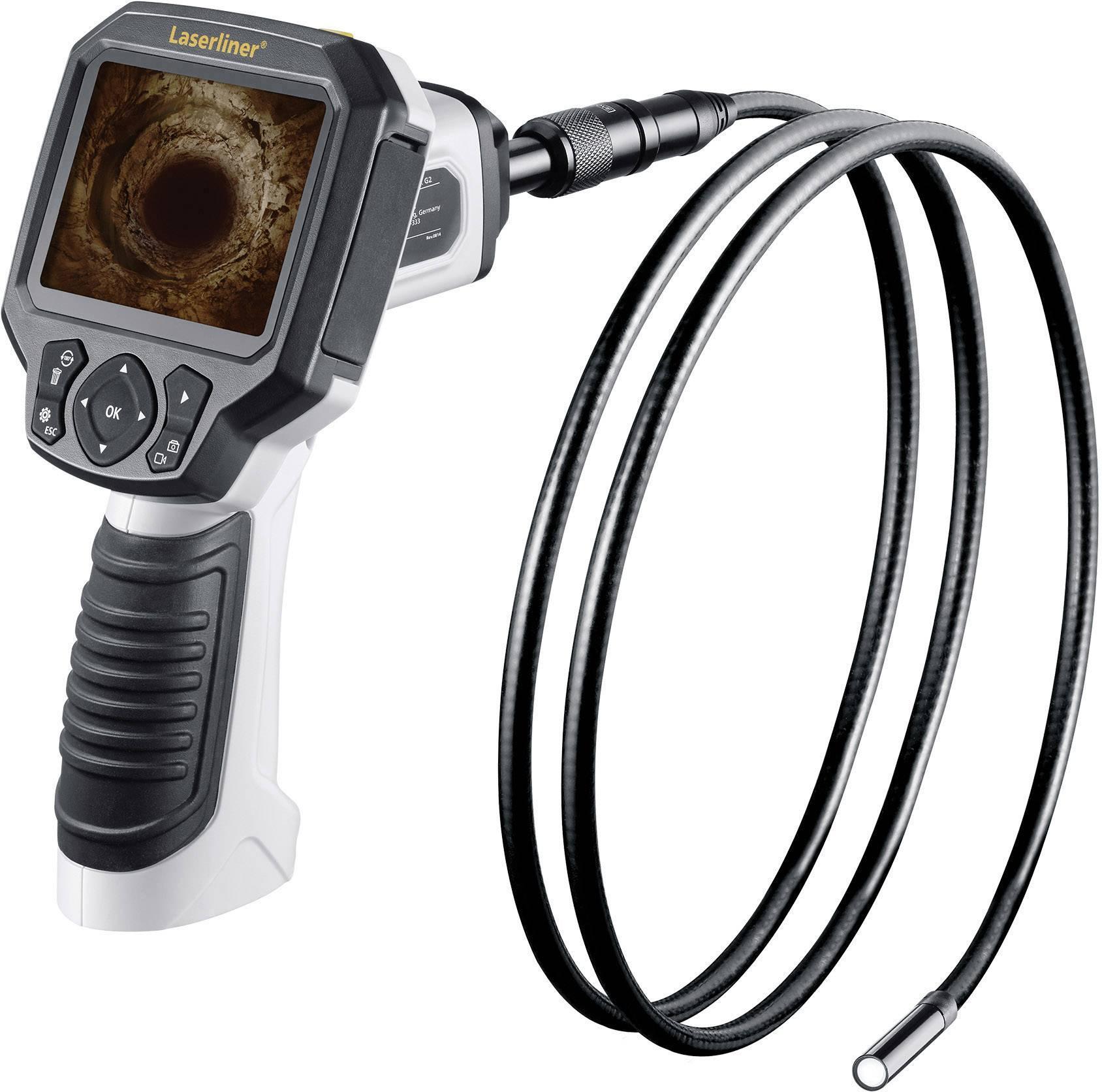 Inspekčná kamera endoskopu Laserliner VideoFlex G3, Ø sondy 9 mm, dĺžka sondy 1.5 m