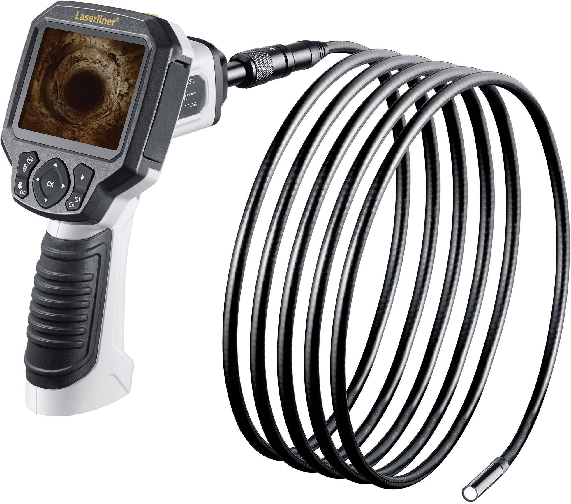 Inspekčná kamera endoskopu Laserliner VideoFlex G3 Ultra, Ø sondy 9 mm, dĺžka sondy 10 m