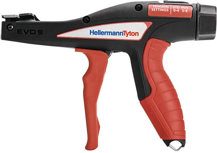 Kleště na stahovací pásky EVO9 HellermannTyton EVO9 110-80002 červenočerná
