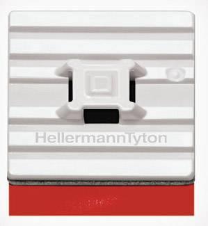 Úchytka HellermannTyton FMB4APT-I-PA66HS-WH 151-01528, samolepicí, bílá, 1 ks