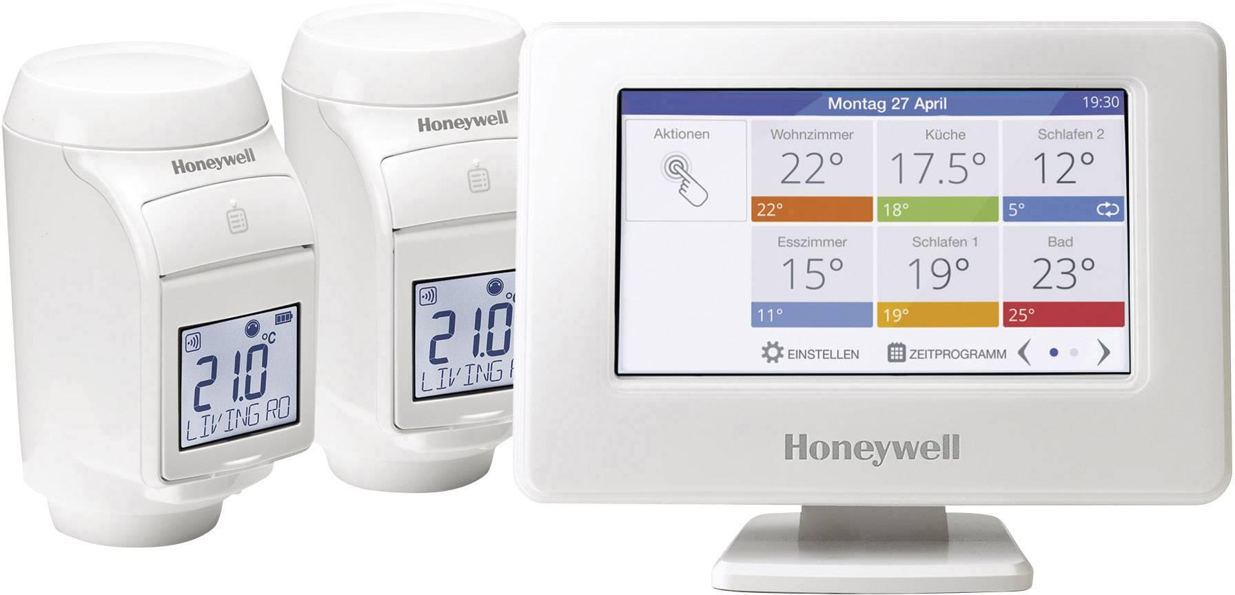 Ovládacia jednotka s Wi-Fi + 2 termostat.hlavice Honeywell Honeywell evohome THR99C3102, štartovacia sada