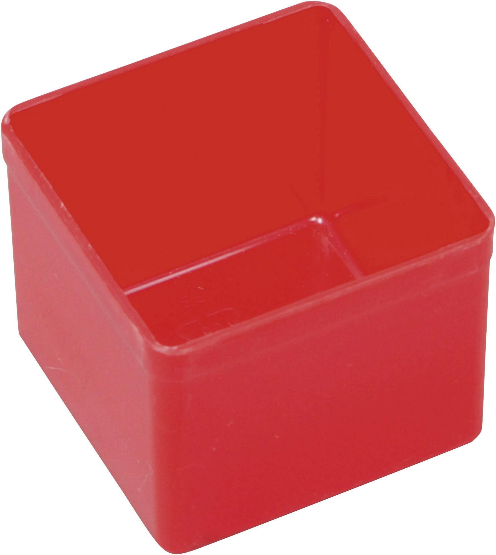 Vložka do kufříku na součástky Allit, 456300, 54 x 54 x 45 , červená