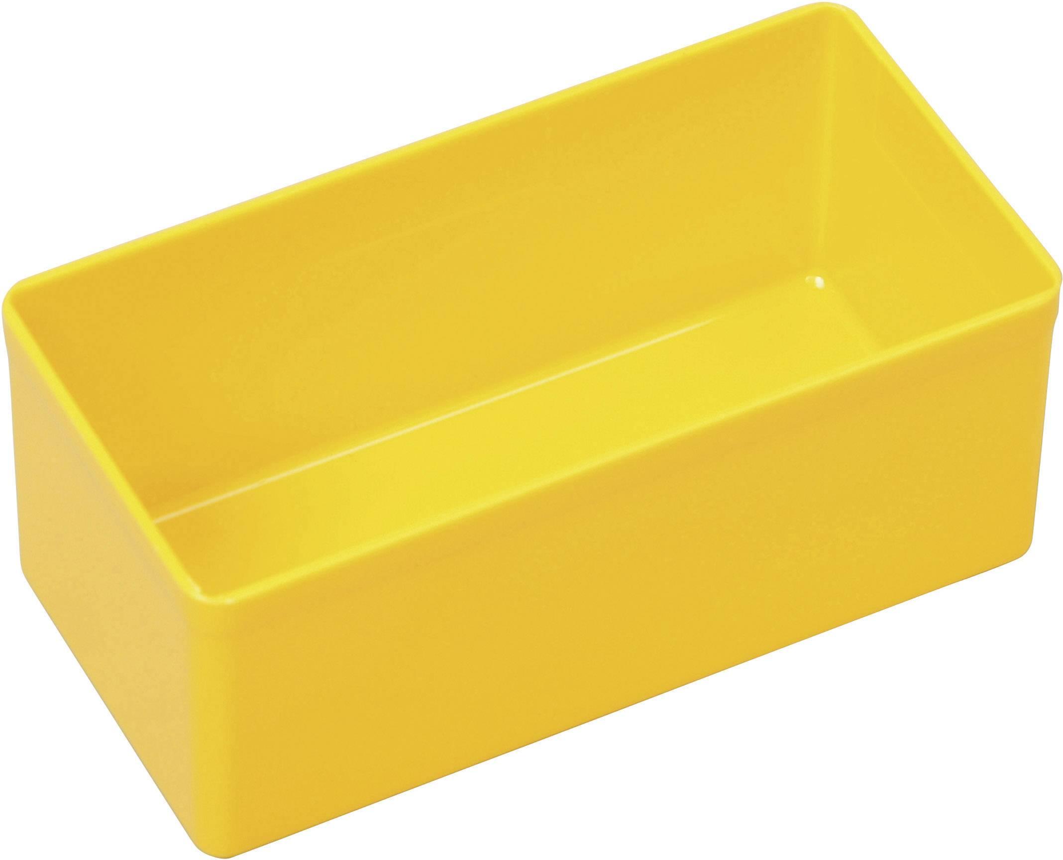Vložka do kufříku na součástky Allit, 456301, 54 x 110 x 45 , žlutá