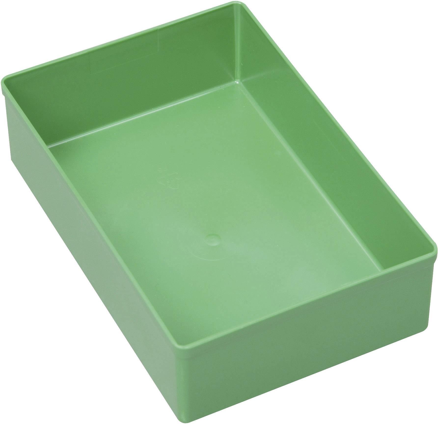 Vložka do kufříku na součástky Allit, 456303, 108 x 162 x 45 , zelená