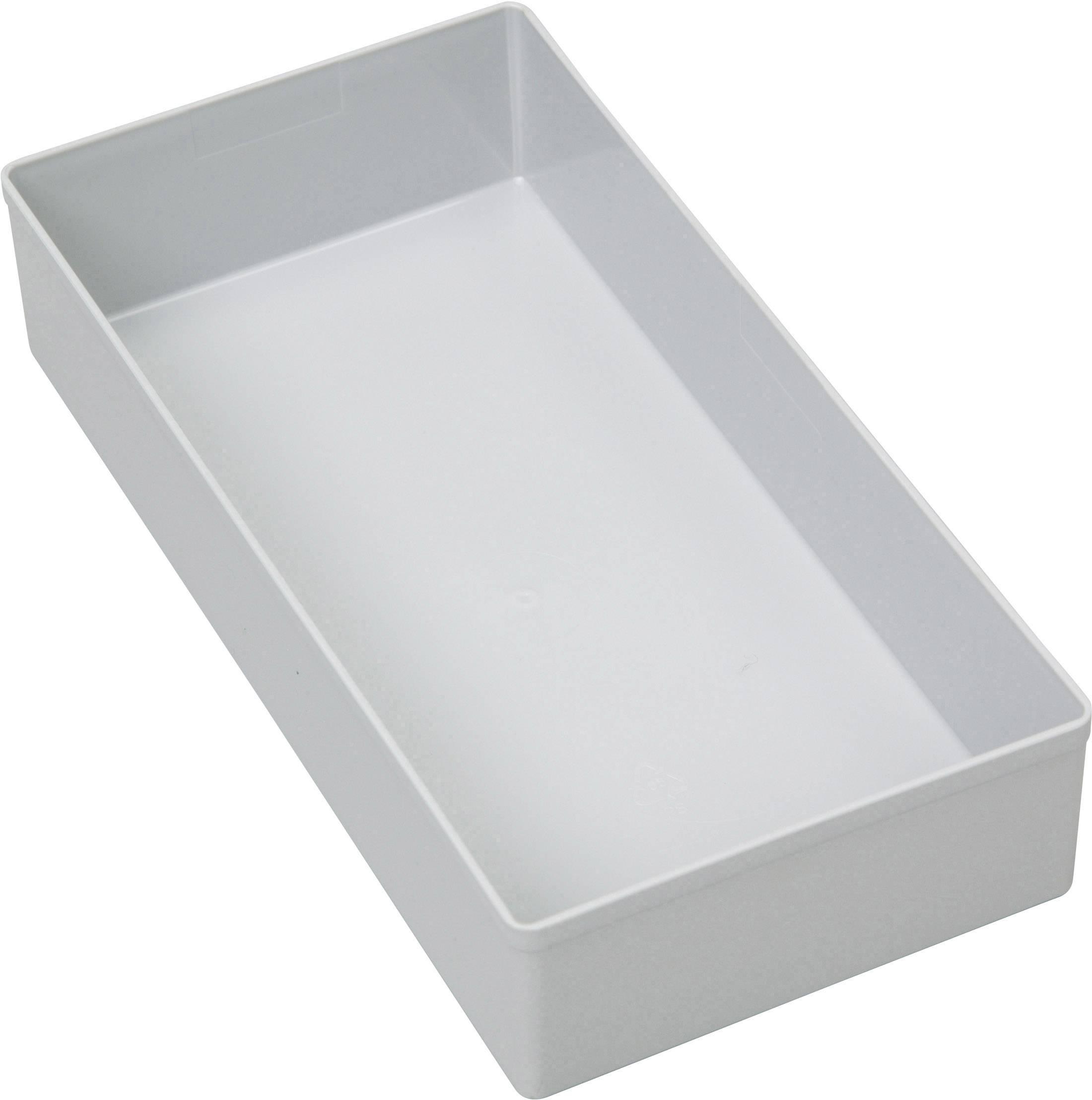 Vložka do kufříku na součástky Allit, 456304, 108 x 216 x 45 , šedá