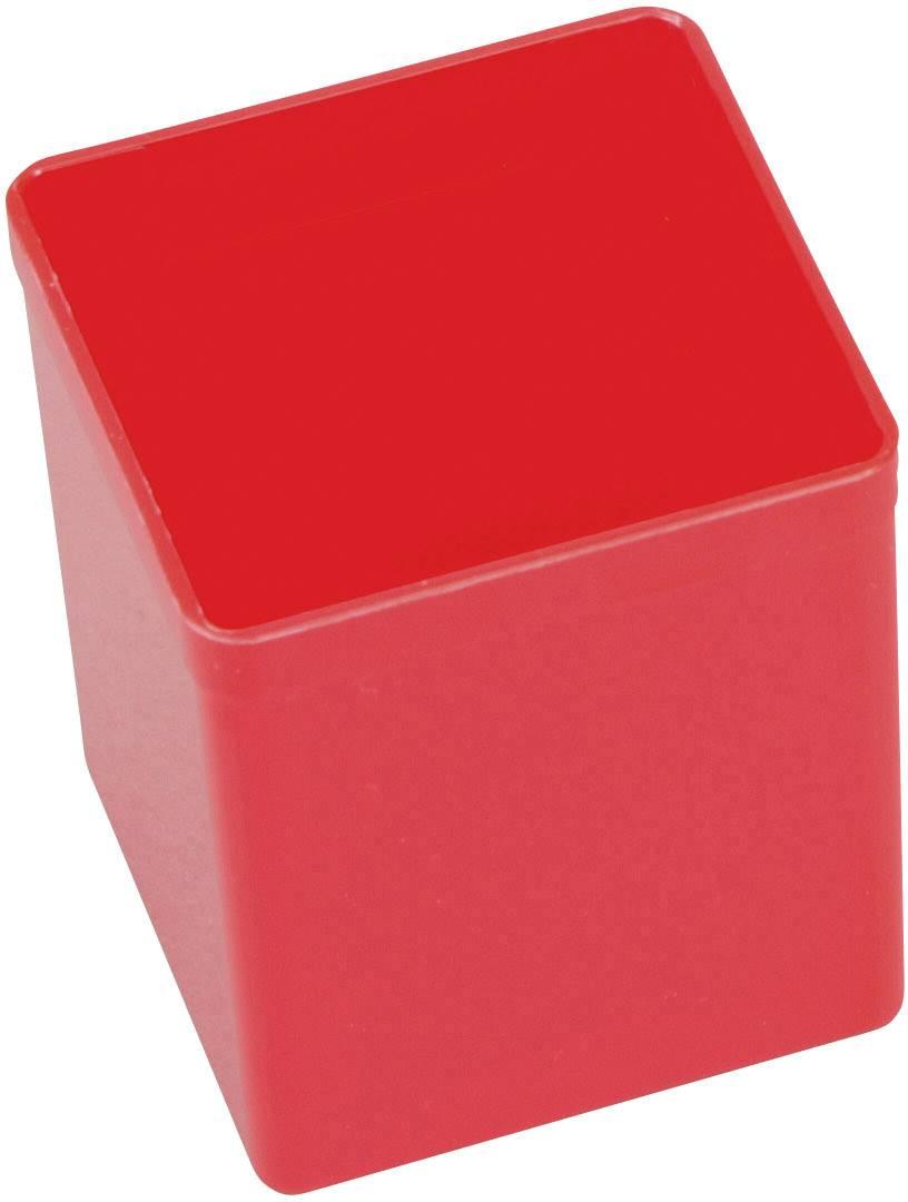 Vložka do kufříku na součástky Allit, 456305, 54 x 54 x 63 , červená