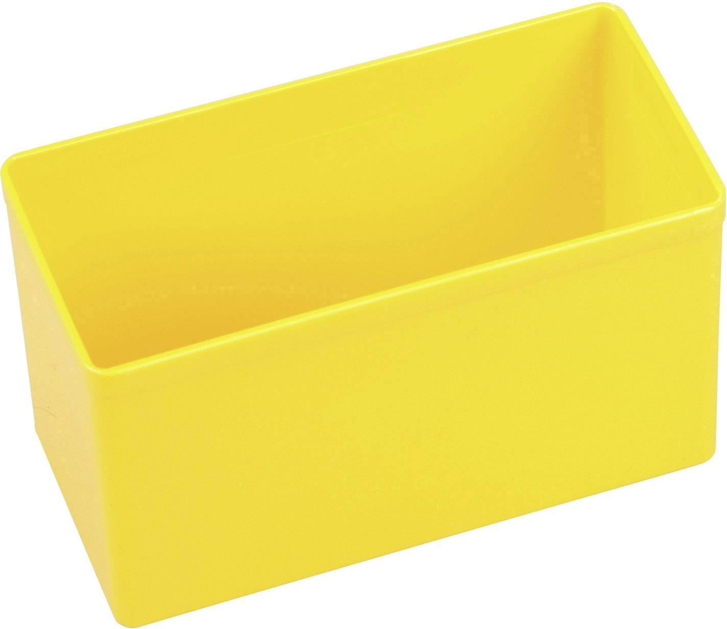 Vložka do kufříku na součástky Allit, 456306, 54 x 108 x 63 , žlutá
