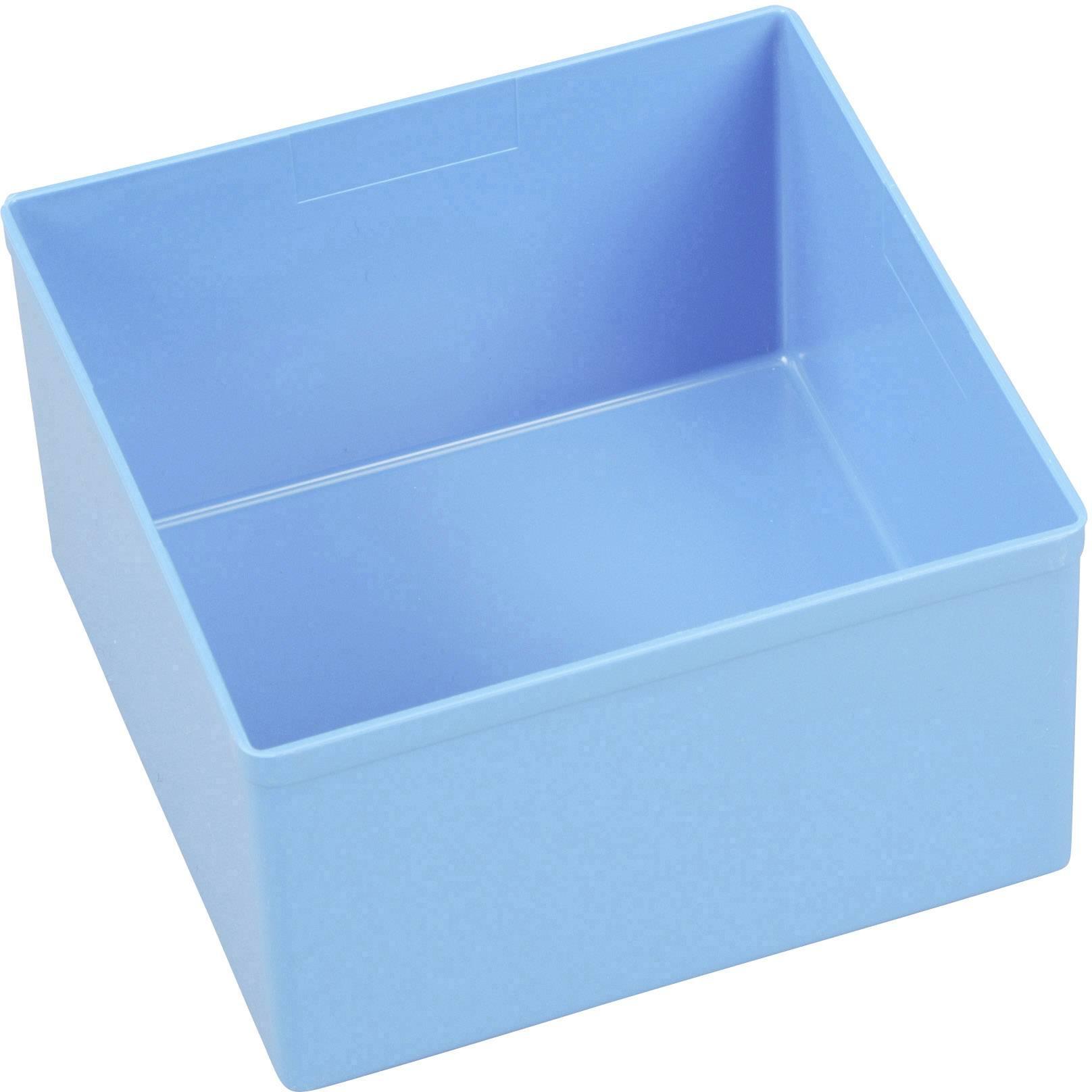 Vložka do kufříku na součástky Allit, 456307, 108 x 108 x 63 , modrá
