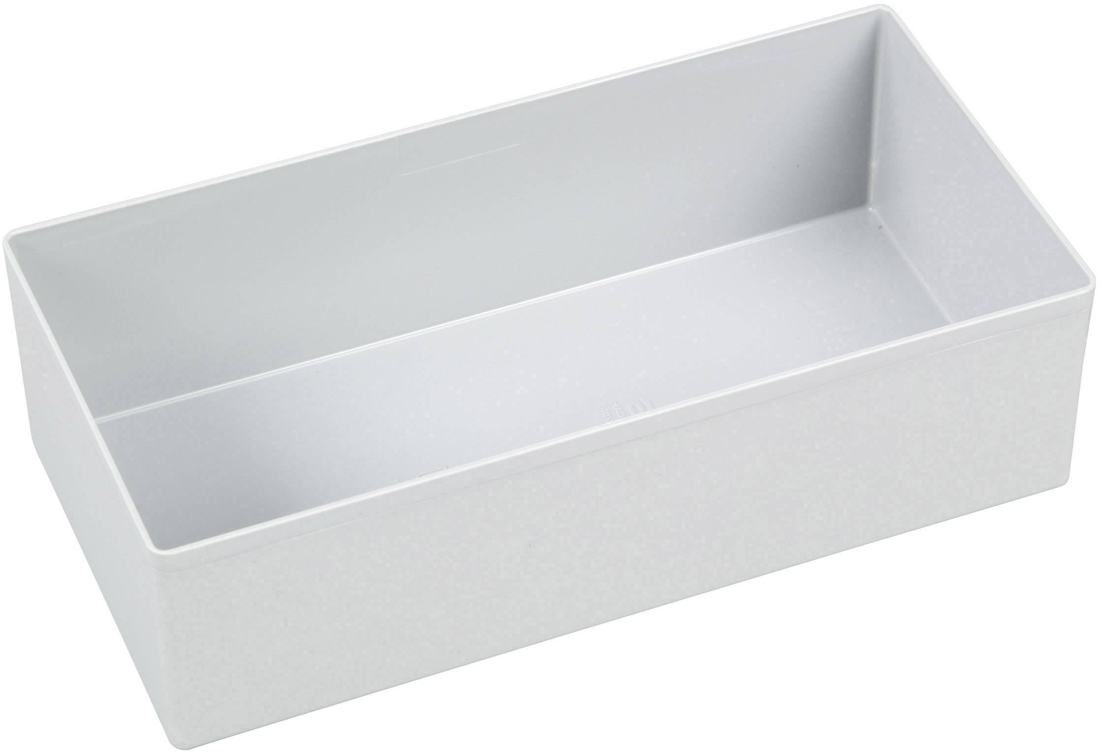 Vložka do kufříku na součástky Allit, 456309, 108 x 216 x 63 , šedá
