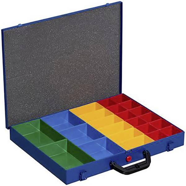 Kufřík na součástky Allit, 454128, 440 x 370 x 51 , modrá