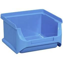 Plastový box na drobný materiál, stohovatelný Allit (š x v x h) 100 x 60 x 100 mm, modrá