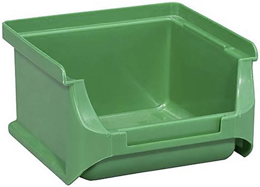 Plastový box na drobný materiál, stohovatelný Allit (š x v x h) 100 x 60 x 100 mm, zelená
